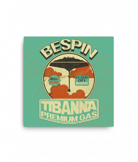 Bespin Tibanna Premium Gas Digital Print Star Wars Canvas